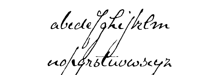 Schoon Font LOWERCASE