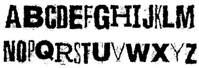 Scizzorwreck_HalbfettAlt Schriftart Groß