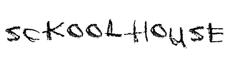 Sckoolhouse  Скачать бесплатные шрифты
