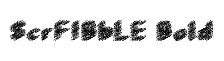 ScrFIBbLE Bold  baixar fontes gratis