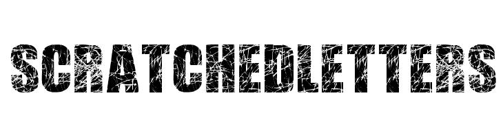 ScratchedLetters  font caratteri gratis