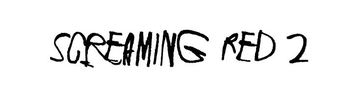 Screaming Red 2  免费字体下载