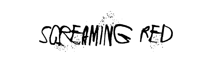 Screaming Red  免费字体下载