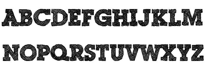 Scribble Box DEMO Font LOWERCASE