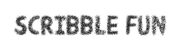 Scribble Fun  Free Fonts Download