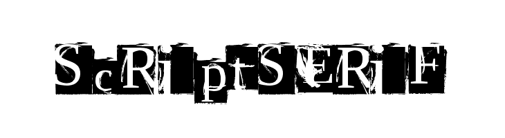 ScriptSERIF  baixar fontes gratis