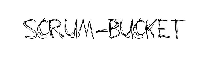 Scrum-Bucket  Fuentes Gratis Descargar
