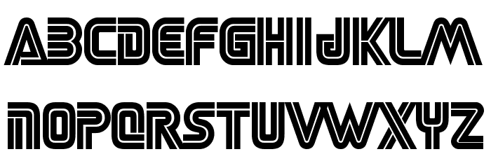 SEGA LOGO FONT Font LOWERCASE