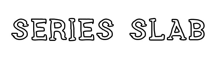 SERIES SLAB  Скачать бесплатные шрифты