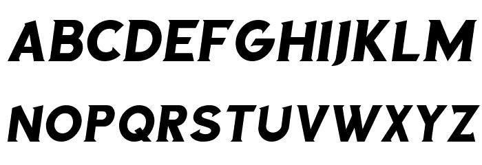 Sea Gardens Italic Font UPPERCASE