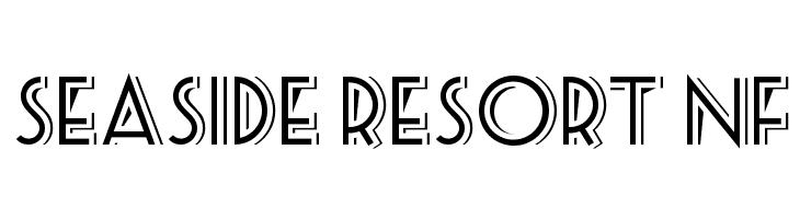 Seaside Resort NF Font