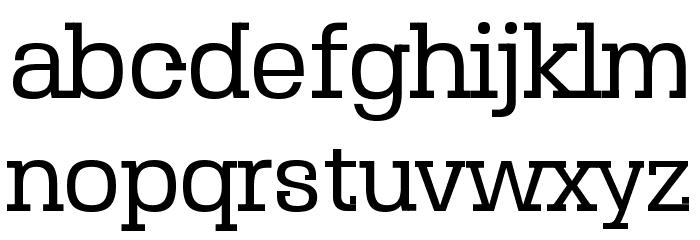 SebSlab-Regular Schriftart Kleinbuchstaben