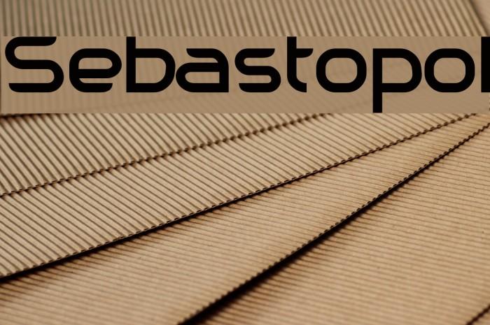 Sebastopol Font examples