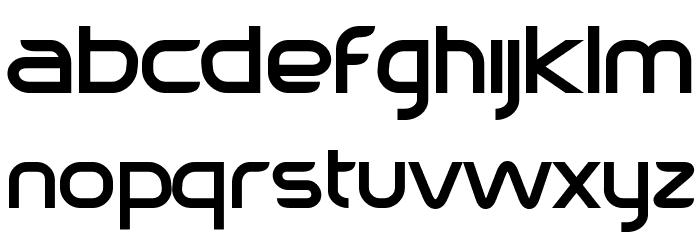 Sebastopol Font LOWERCASE