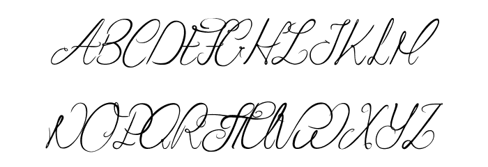 Seduction of Cristabelle Font UPPERCASE