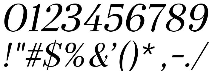 Serif72Beta-Italic Font OTHER CHARS