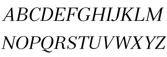 Serif72Beta-Italic Font UPPERCASE