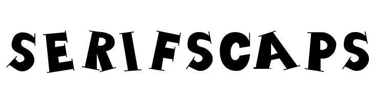 SerifsCaps  नि: शुल्क फ़ॉन्ट्स डाउनलोड