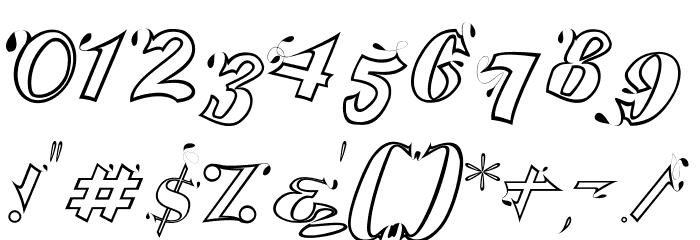 Serling Script Regular Font OTHER CHARS