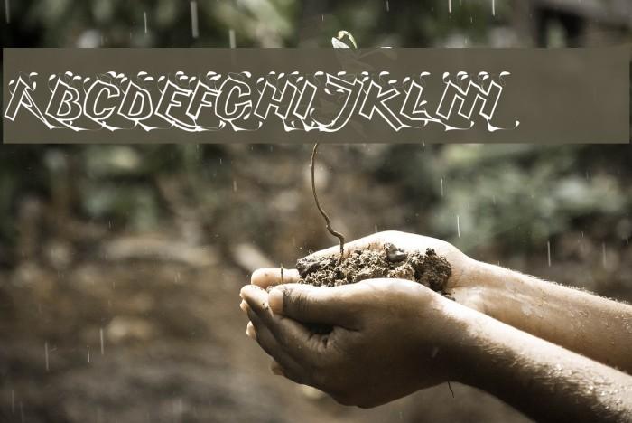 Serling Script Regular Font examples