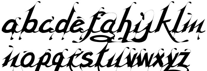 Serling Script Regular Font LOWERCASE