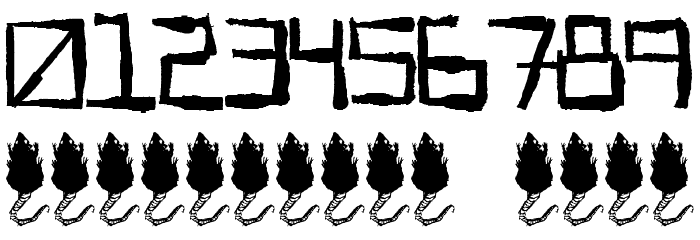 Sewer Rat Font OTHER CHARS