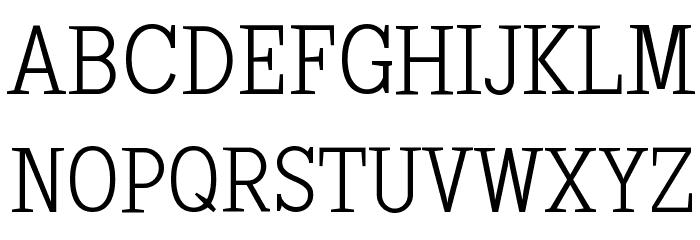 SextanLight Font UPPERCASE