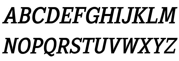 SextanRoman-Italic Font Litere mari