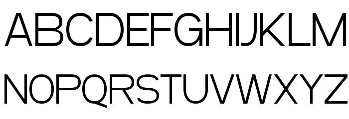 SF Arborcrest Light Font UPPERCASE