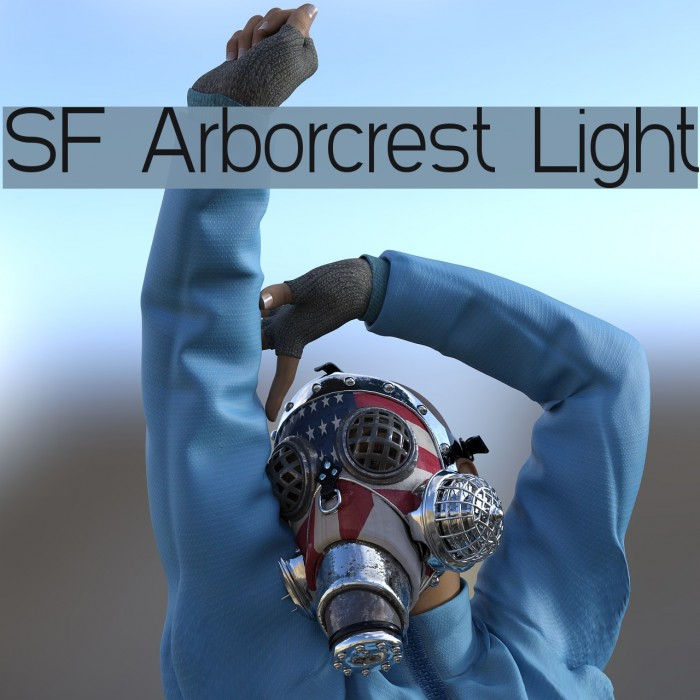 SF Arborcrest Light Font examples