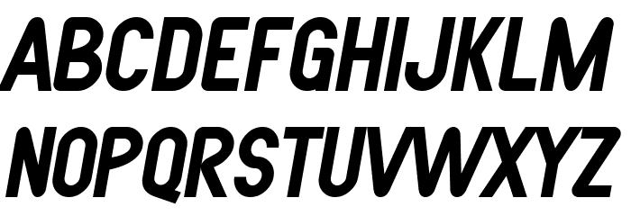 SF Atarian System Bold Italic फ़ॉन्ट अपरकेस