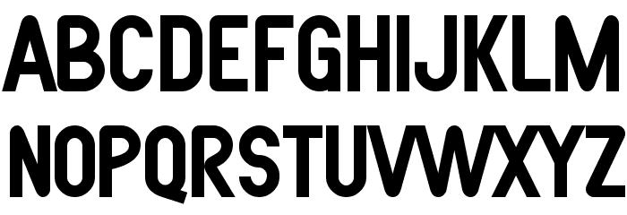 SF Atarian System Bold फ़ॉन्ट अपरकेस