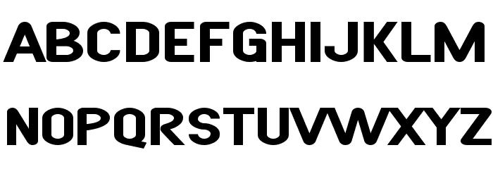 SF Atarian System Extended Bold फ़ॉन्ट अपरकेस