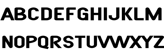 SF Atarian System Extended Bold फ़ॉन्ट लोअरकेस
