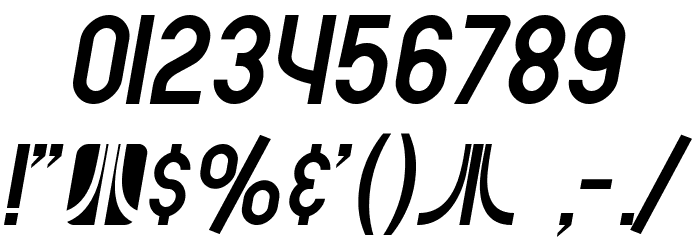 SF Atarian System Italic फ़ॉन्ट अन्य घर का काम