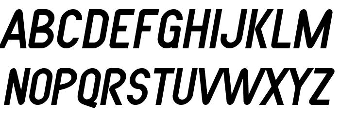 SF Atarian System Italic फ़ॉन्ट अपरकेस