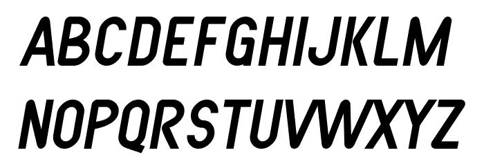SF Atarian System Italic फ़ॉन्ट लोअरकेस