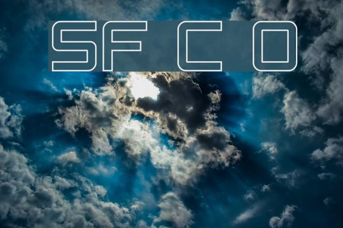 SF Chaerilidae Outline Fonte examples