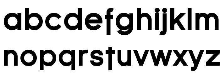 SF Florencesans Black Font LOWERCASE