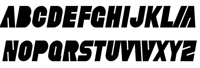 SF Fortune Wheel Condensed Italic Шрифта строчной