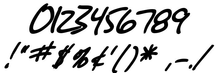 SF Grunge Sans Bold Italic फ़ॉन्ट अन्य घर का काम