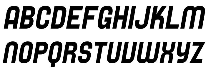 SF Speedwaystar Italic Font UPPERCASE