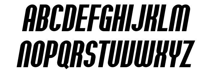 SF Willamette Bold Italic Font UPPERCASE
