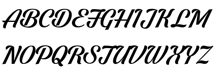 Shaded Larch PERSONAL USE ONLY Font UPPERCASE