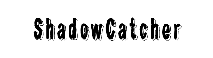 Shadow Catcher  Free Fonts Download