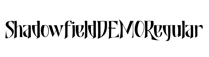 Shadowfield DEMO Regular  baixar fontes gratis