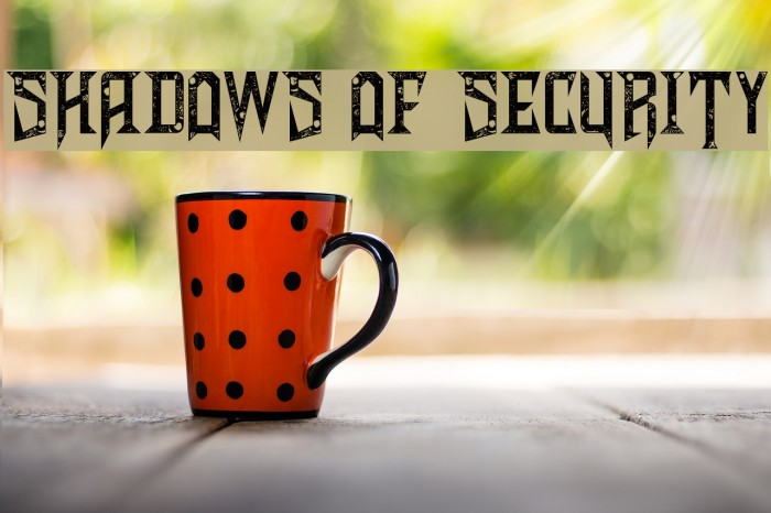 Shadows of Security Polices examples
