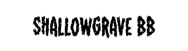 ShallowGrave BB  Скачать бесплатные шрифты
