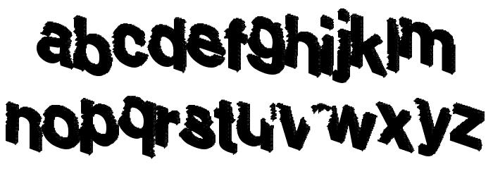 Sharking Шрифта строчной