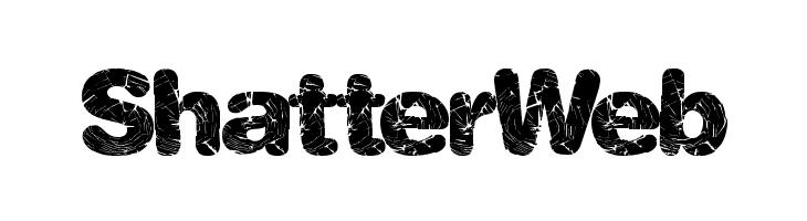 ShatterWeb  Free Fonts Download